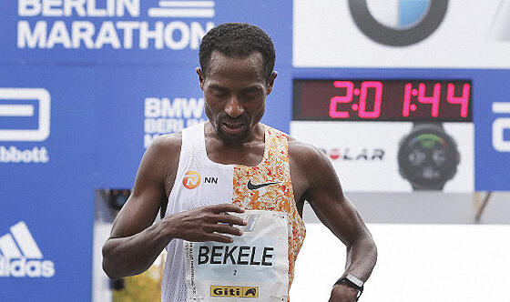 bekele dissapointed